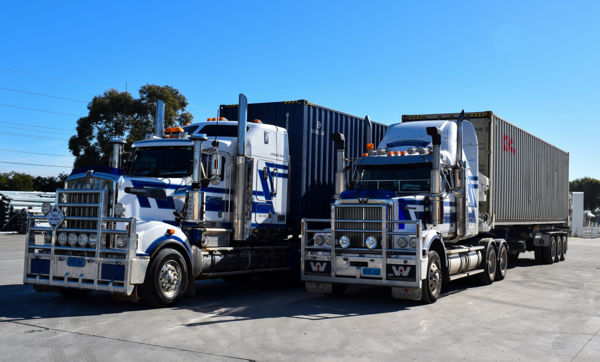 Road Container Transport